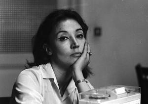 Oriana Fallaci (foto Ansa)