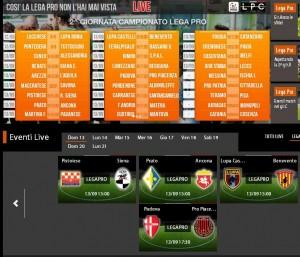 Padova-Pro Piacenza: diretta streaming Sportube su Blitz, ecco come vederla