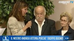 """Andrea Natali, padre in lacrime: """"Non dormo più"""" VIDEO"""
