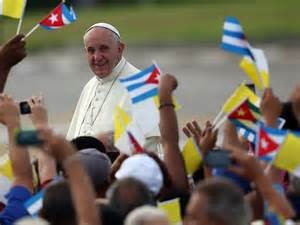 Papa Francesco all' Havana