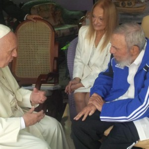 Papa Francesco a Cuba accolto da 500mila, oggi Fidel Castro
