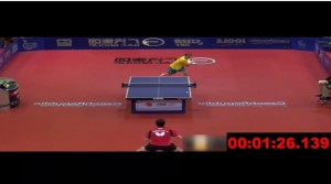 Video YouTube: ping pong, punto incredibile, 91 schiacciate
