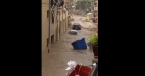 VIDEO YouTube - Giardini Naxos allagata, emergenza Messina