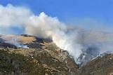 L' incendio sui Pirenei