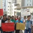 """Profughi protestano a Pordenone: """"Vogliamo casa e documenti"""""""