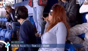 """Patrizia Rossetti a tifoso: """"Con chi parli?"""". Lui: """"C... miei"""""""
