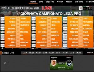 Reggiana-Giana Erminio: diretta live streaming Sportube, ecco come vederla