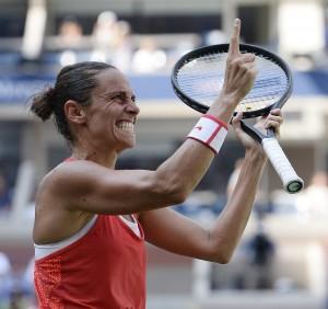 Tennis, Us Open. Roberta Vinci in semifinale, oggi Pennetta
