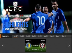Santarcangelo-Arezzo: diretta streaming Sportube, ecco come vederla