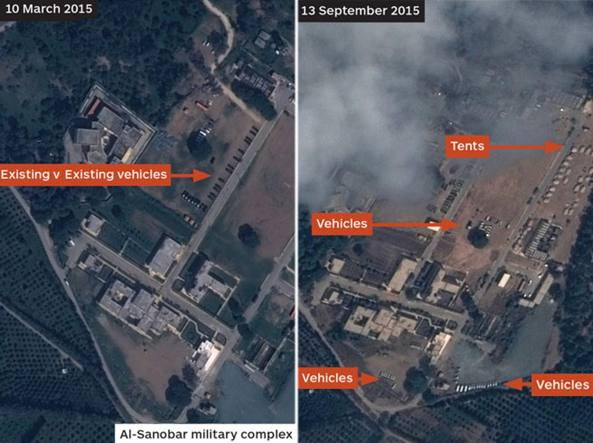 "Siria: satellite ""scova"" due basi russe FOTO"
