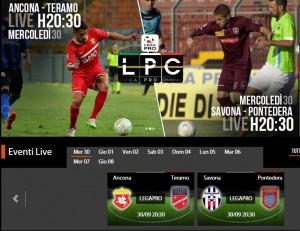 Savona-Pontedera: streaming diretta live Sportube.tv, ecco come vederla