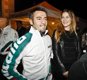 """Max Biaggi-Eleonora Pedron si lasciano. Lui: """"Ci abbiamo provato"""""""