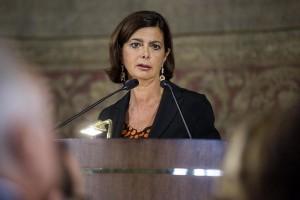 """Laura Boldrini: """"L'Italia migliori l'accoglienza dei profughi"""""""