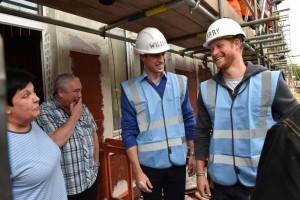 Principi William e Harry carpentieri per un giorno VIDEO