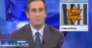 Gaffe tv Usa: festa ebraica con stella Davide nazista VIDEO
