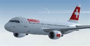 Un aereo della Swiss Air
