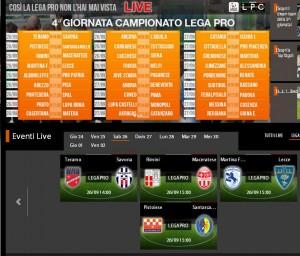 Teramo-Savona: STREAMING diretta Sportube su Blitz, ecco come vederla