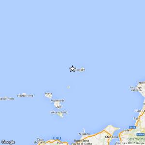 Terremoto vicino Isole Eolie: magnitudo 3.0