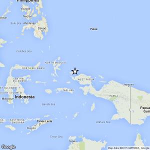 Terremoto Indonesia-Papua, magnitudo 6.8