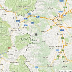 Terremoto vicino Torino: scossa 3.1 a Villar Pellice