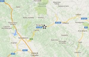 Terremoto Pesaro 3.6 a Urbino-Sansepolcro sentito fino a...