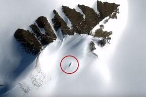 VIDEO YouTube - Ufo nella neve in Antartide?