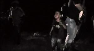 polizia Ungheria, spray urticante sui bambini