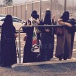 Tifose arabe allo stadio col niqab per la Juventus FOTO 2