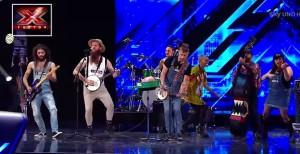 "X Factor, Iron Mais e il ""rock agricolo"""