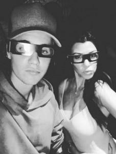 YOUTUBE Justin Bieber, cena romantica con Kourtney Kardashian