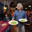 Genova, Beppe Grillo cameriere a cena finanziamento M5s