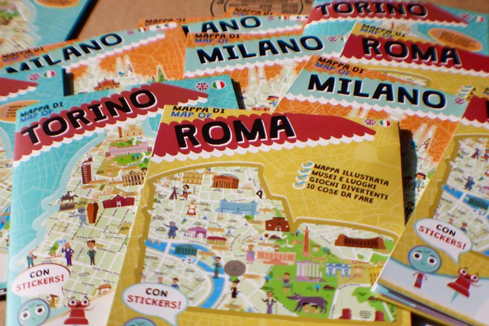 Roma con i bambini? Arrivano le mappe disegnate per loro