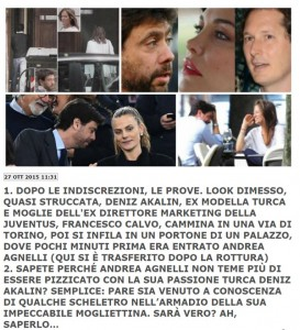 Andrea Agnelli-Deniz-Akalin: Emma Winter va a Londra con...