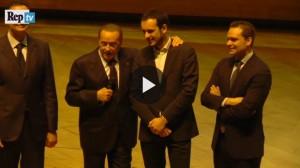 Berlusconi racconta una nuova barzelletta...