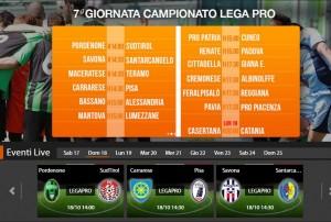 Carrarese-Pisa: streaming diretta live Sportube su Blitz, ecco come vederla