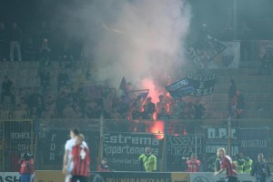 Casertana-Catania scontri: 6 casertani diffidati