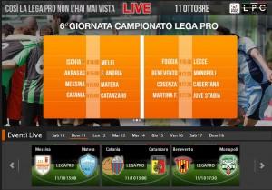 Catania-Catanzaro: streaming diretta live Sportube su Blitz, ecco come vederla