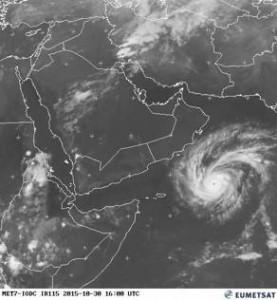 In arrivo uragano Chapala in Yemen e Oman