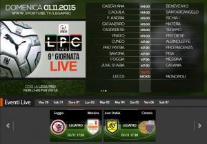Foggia-Messina: streaming diretta live Sportube su Blitz, ecco come vederla