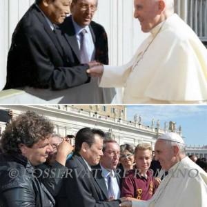 Papa Francesco: photoshop di Fukushima simula visita privata