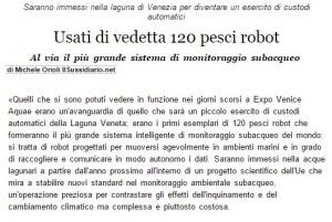 L'articolo di Italia Oggi
