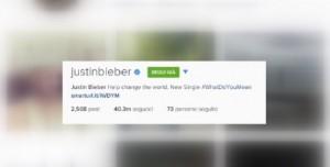 Instagram ha 5 anni: Rihanna e Justin Bieber i più seguiti