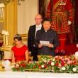 Kate Middleton in rosso: gioielli e diadema famiglia reale7