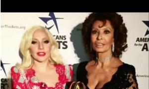 Lady Gaga incontra Sophia Loren: Abbiamo parlato in italiano