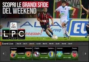 L'Aquila-Santarcangelo: streaming diretta live Sportube, ecco come vederla