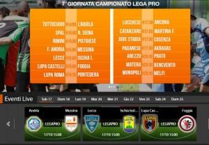 Lecce-Ischia: streaming diretta live Sportube su Blitz, ecco come vederla