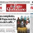 """Marco Travaglio sul Fatto: """"Vergognatevi, why not?"""""""