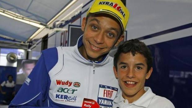 Valentino Rossi, FOTO di quando era l'idolo di Marc Marquez