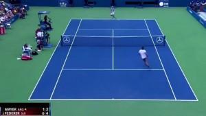 """VIDEO YOUTUBE - Federer, il """"SABR"""" diventa marchio fabbrica"""
