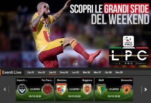 Melfi-Benevento: streaming diretta live Sportube, ecco come vederla